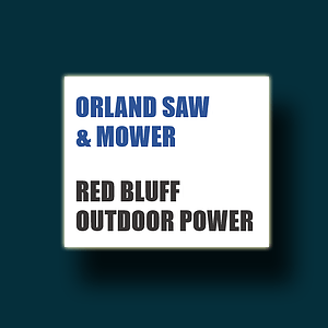 The Thunder Rumble Double Shot is fueld by Orland Saw and Mower and